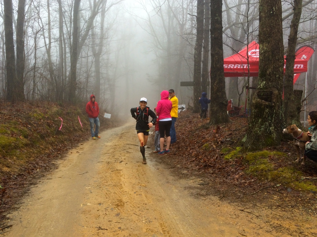 Entering mile 24 crew point. Photo: Andrew Pattison