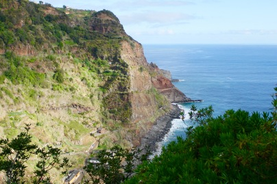 the course along Sao Jorge coastline