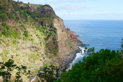 the course along Sao Jorge coastline