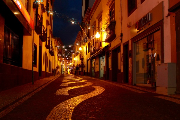 Funchal late night. photo: k.pat